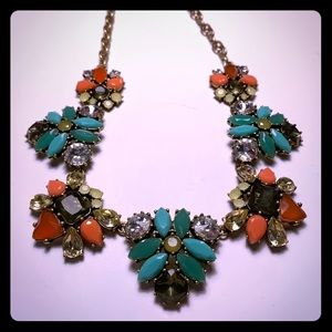 Stella & Dot Colorful Statement Necklace